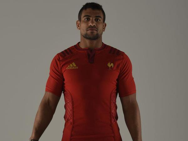 Red France Rugby Jersey 2015