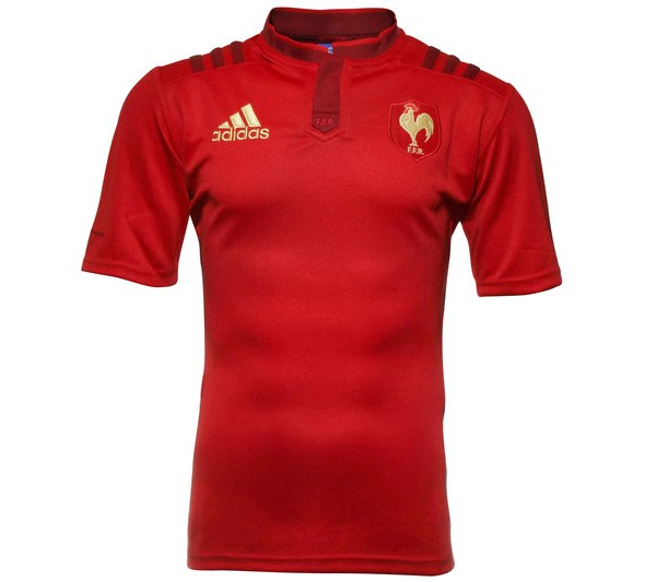 Red France Rugby Top 2015