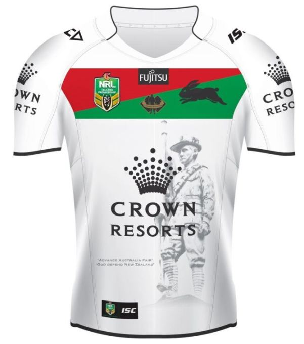 Rabbitohs Anzac Jersey 2015 New South Sydney Anzac Shirt 2015 Isc New Rugby Kits