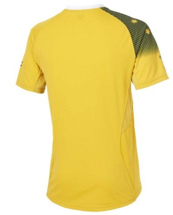 Leaked Australia RWC Shirt Back