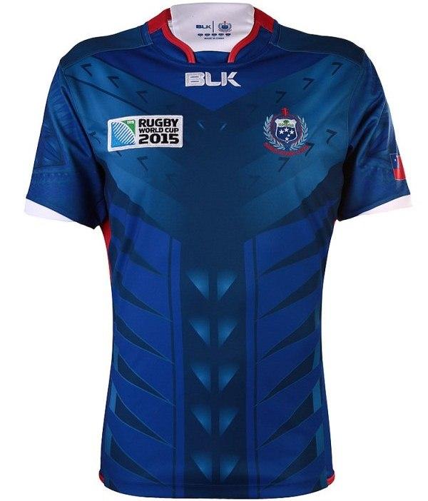 New Samoa RWC Jersey 2015