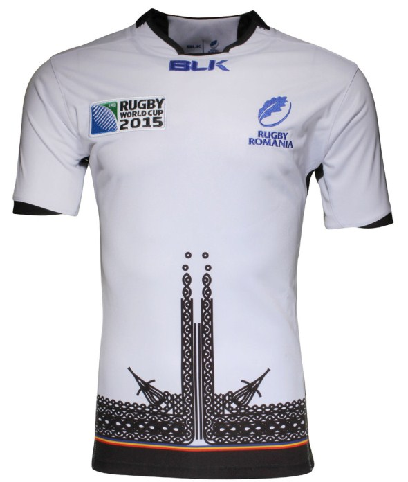 Romania Away Jersey Rugby World Cup 2015