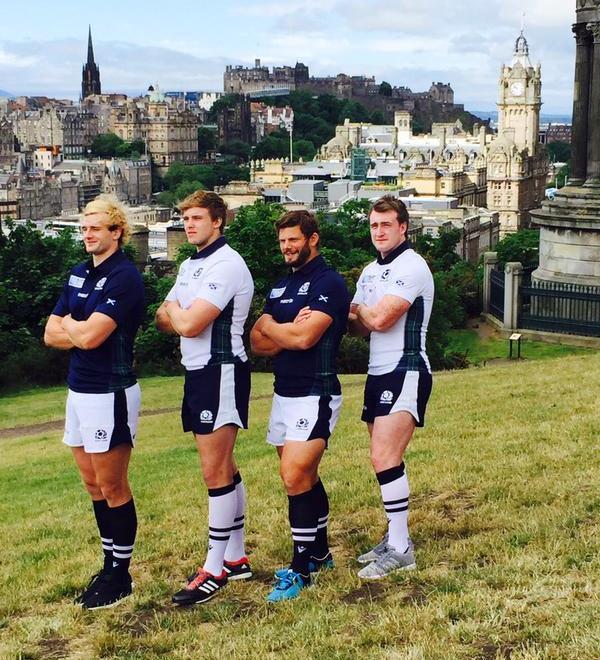 Scotland RWC 2015 Strip