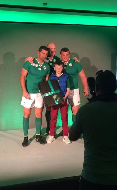 Ireland Rugby World Cup Shirt 2015