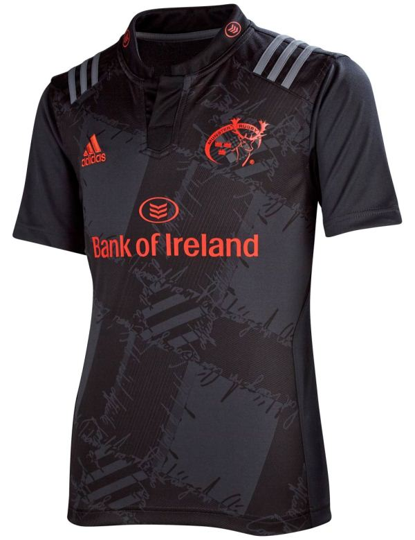 Munster Away Rugby Shirt 2015 16