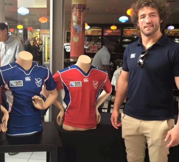 Namibia Rugby World Cup Kit 2015