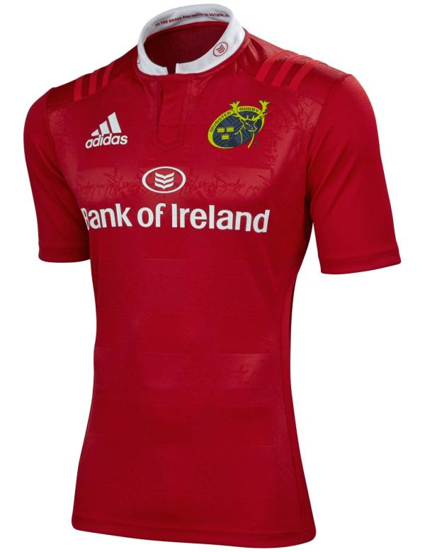 New Munster Rugby Jersey 2016