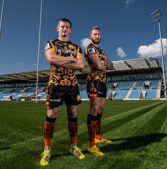 Exeter Chiefs Cup Kit 2015 16