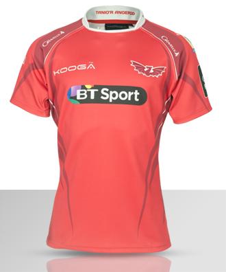 Scarlets Rugby Kit 15 16