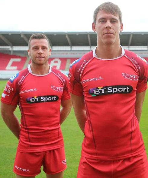 Scarlets Rugby Shirt 2015 16