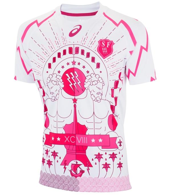 Stade Francais Third Kit 15 16