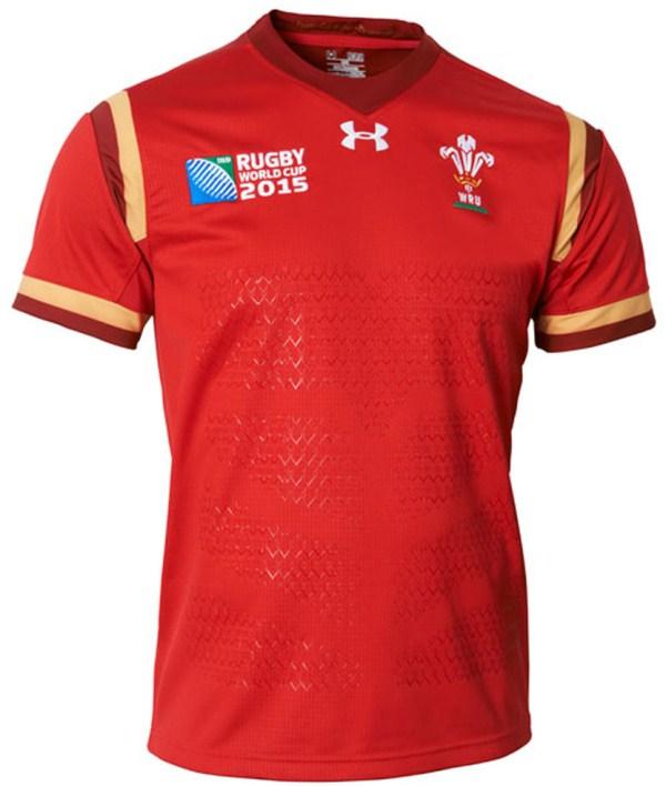 Wales RWC Jersey 2015