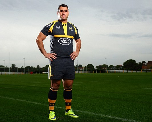 Wasps Rugby Under Armour Shirt 2015 2016