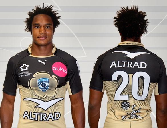 Montpellier Rugby Third Kit 2015 2016
