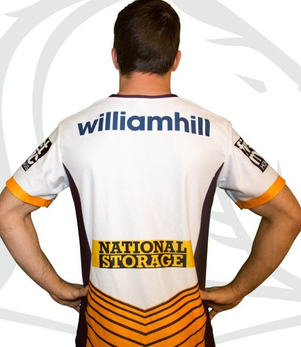 Broncos NRL Away Shirt 2016