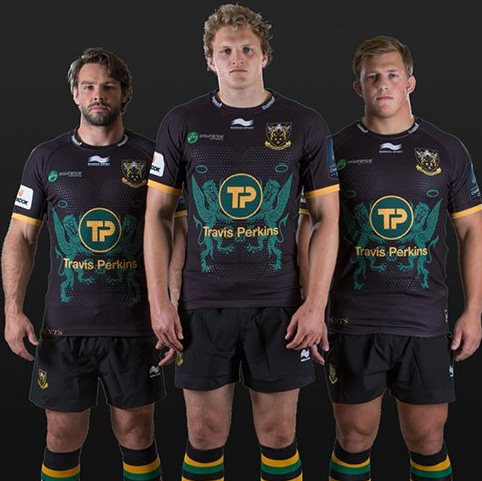 Saints Rugby Cup Shirt 2015 2016