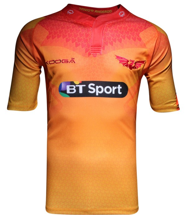 Scarlets Away Kit 2016