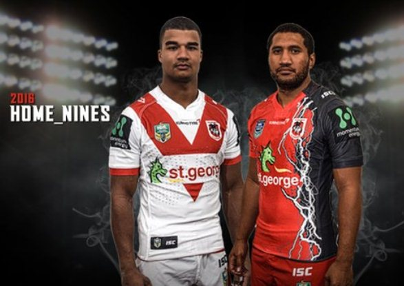 Dragons Nines Jersey 2016
