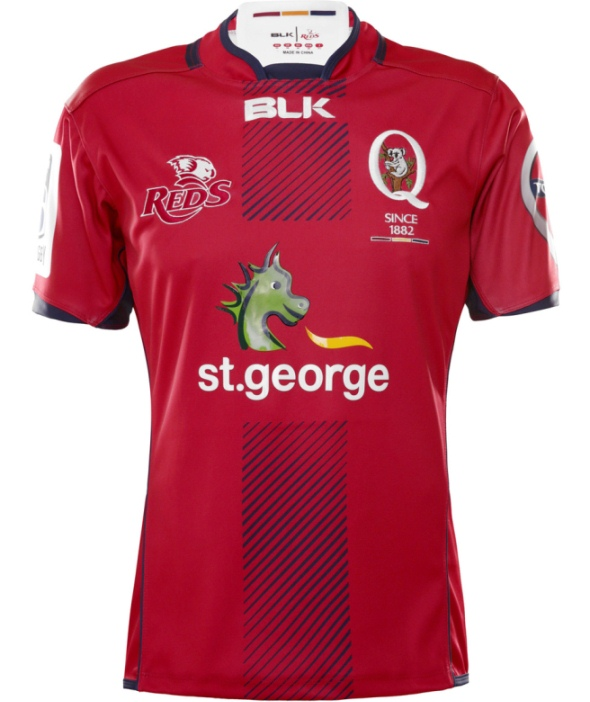 Reds Rugby Jersey 2016