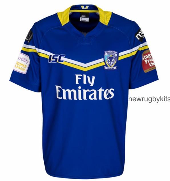 Warrington Wolves Home Shirt 2016