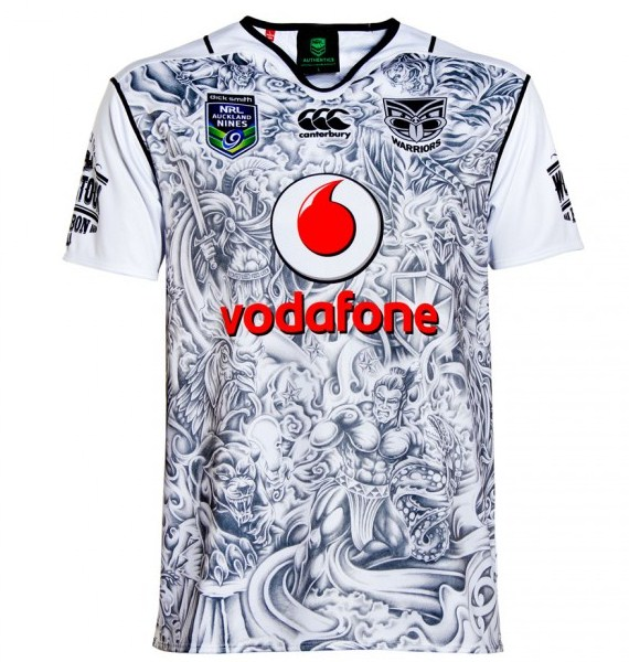 Warriors Nines Jersey 2016
