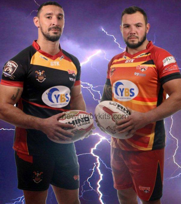 6TK Sportswear Rugby Kit 2016 Dewsbury Rams