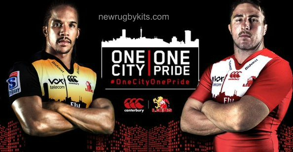 Lions Super Rugby Shirt 2016