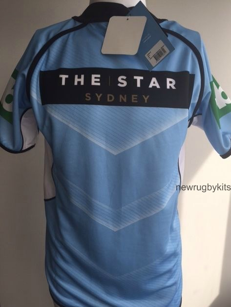 NSW Blues Origin Jersey 2016