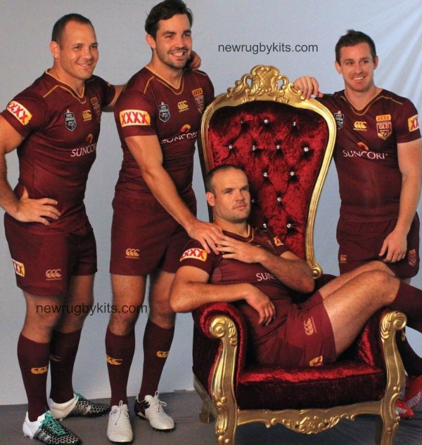 New Qld Origin Jersey 2016