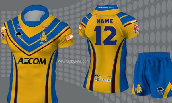 Whitehaven RLFC Away Shirt 2016