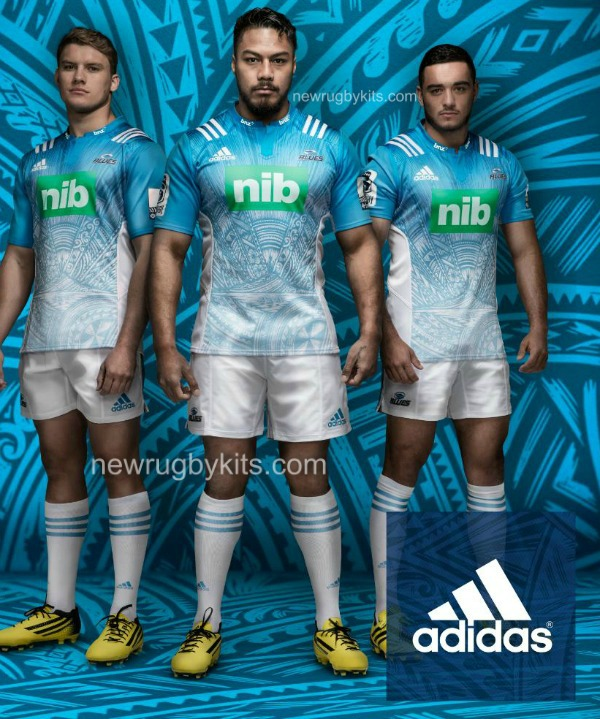 Blues Super Rugby Away Kit 2016