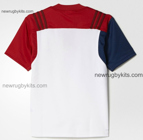 France Away Jersey 2016 Rugby