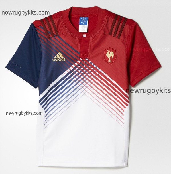 France Away Rugby Shirt 2016 6 Nations