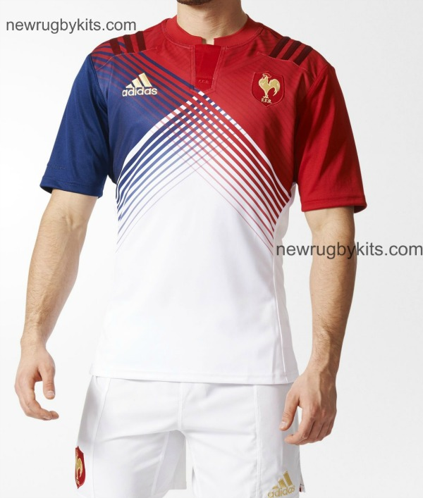 New France Away Rugby Top 2016