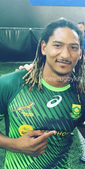 South Africa Sevens Rugby Jersey 2016