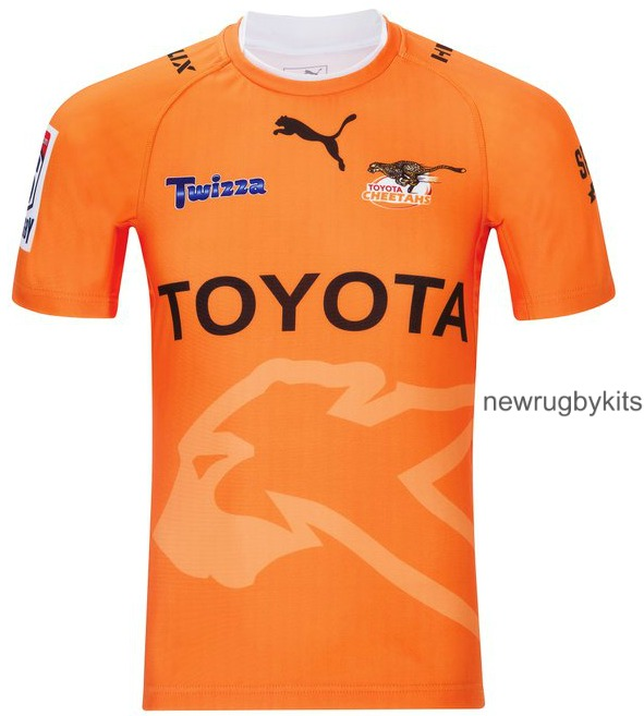 Cheetahs Rugby Away Kit 2016