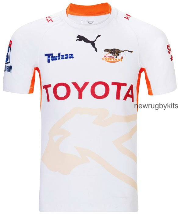 New Cheetahs Rugby Jersey 2016