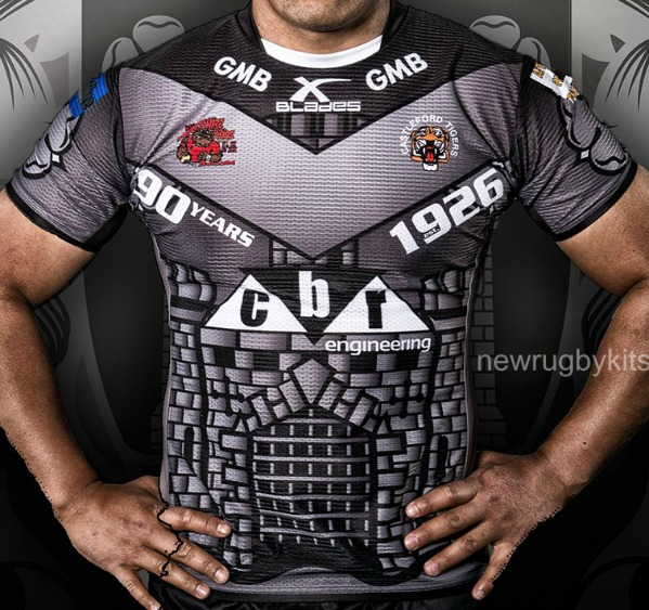 Castleford Tigers 90th Anniversary Jersey 2016