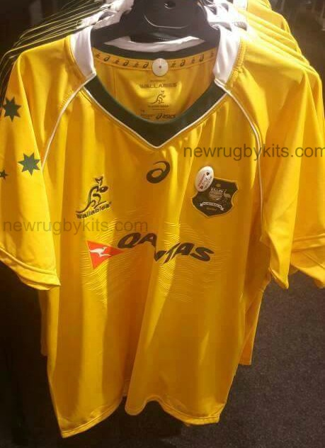 Leaked Wallabies Jersey 2016