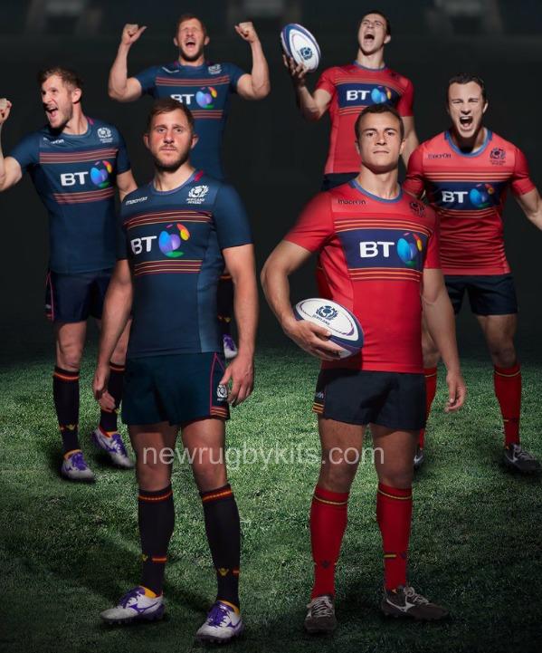 New Scotland Sevens Strip 2016 Rugby