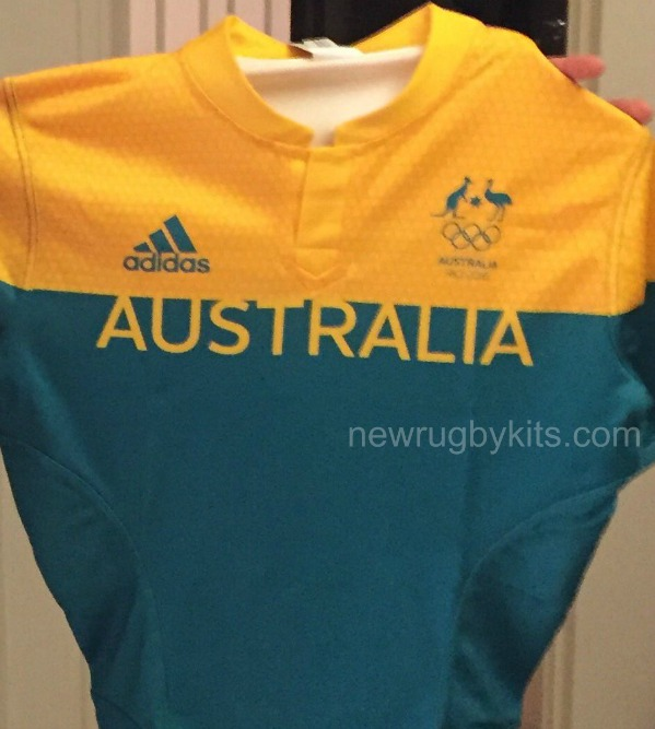 a70f3a080a2 New Australia Sevens Olympic Jersey 2016- Adidas 7's Rio Games Kits ...