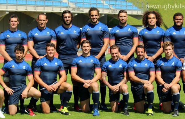 new france sevens olympic jersey 2016 france rugby jo 2016 shirts home away new rugby kits. Black Bedroom Furniture Sets. Home Design Ideas
