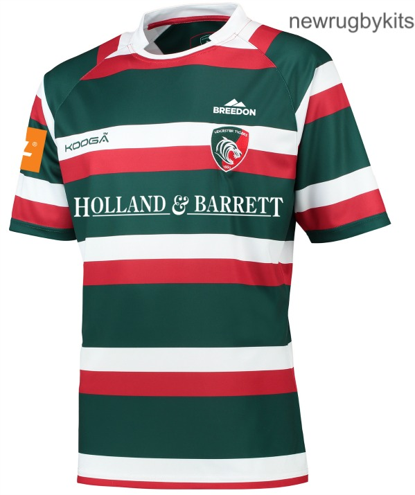 New Leicester Tigers Rugby Kit 2016 17