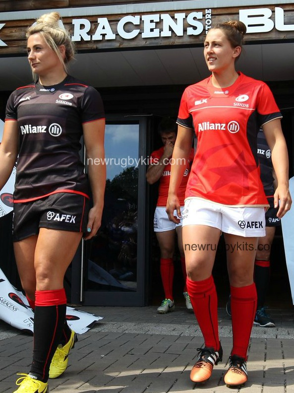 New Saracens Rugby Shirt 2016 2017