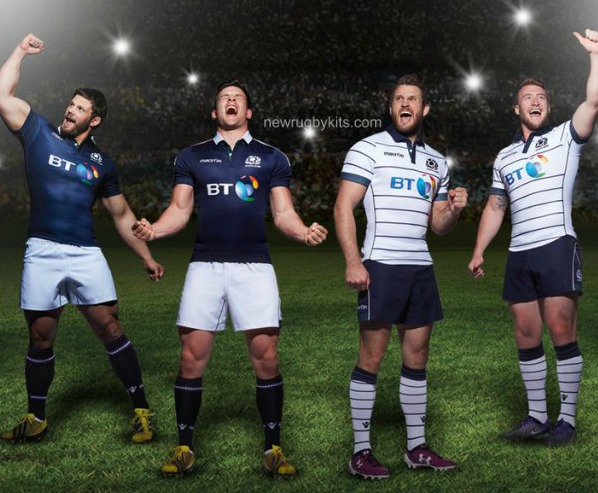 New Scotland Rugby Strip 2016 2017