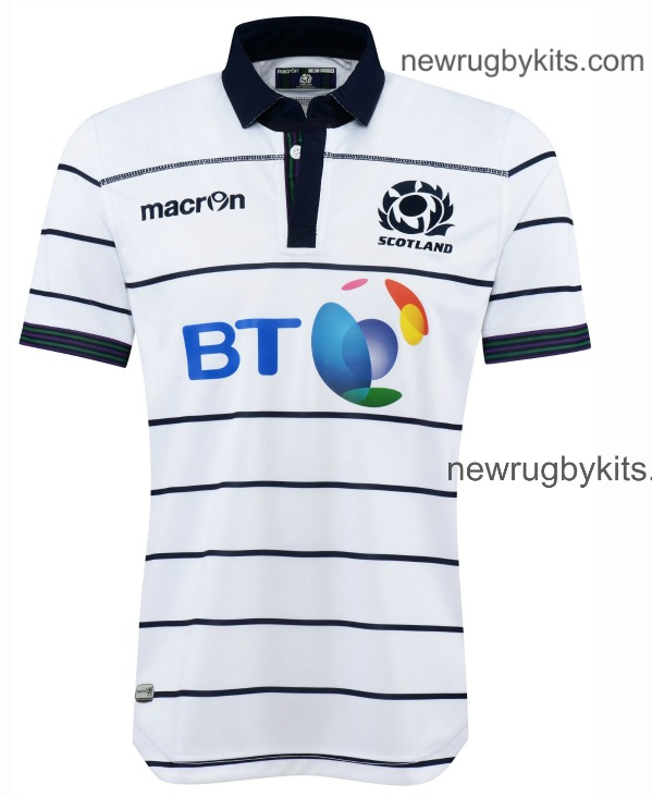 Scotland Rugby Away Strip 16 17