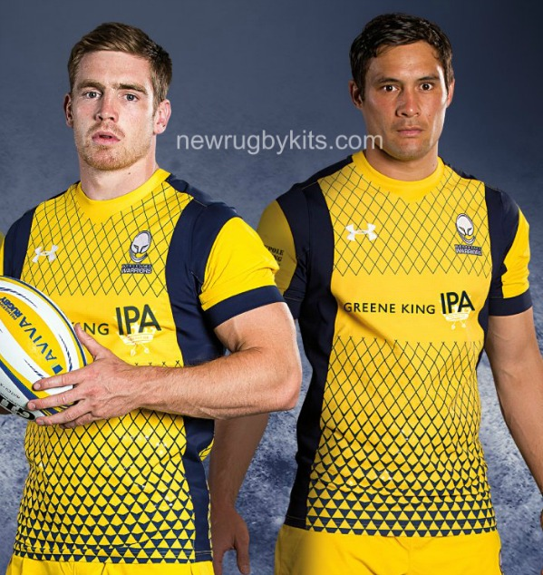 Worcester Warriors Away Jersey 2016 2017