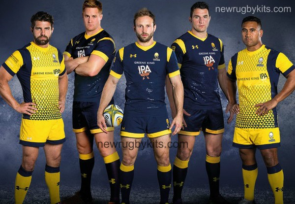 Worcester Warriors Under Armour Shirt 2016 17