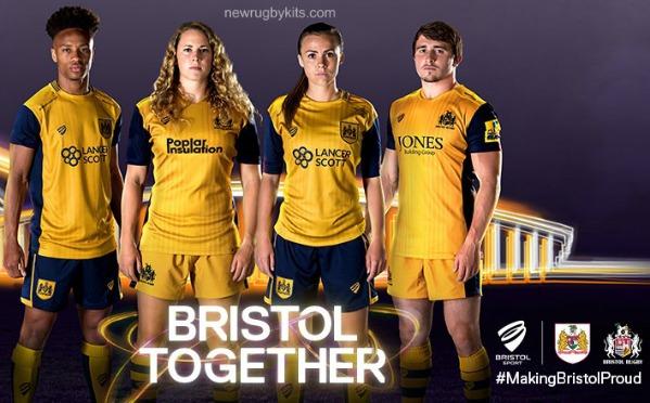 Bristol Rugby Away Shirt 16 17