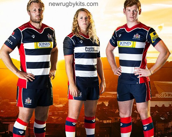 Bristol Rugby Home Kit 2016 17
